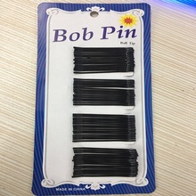 Cheap Fashion 1set Black Sexy Wild Popularity Simple Hairpins Metal Hair Clip Bobby Pin Hair Accessories Headwear Quantity 60pcs