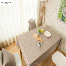 XYZLS 2016 New Japanese Pastoral Style Striped Table Cloth Cotton Linen Tablecloth Rectangle Table Covers for Home Outdoor Use