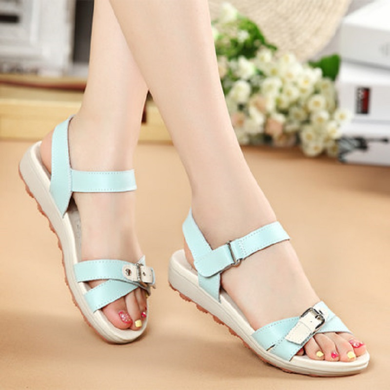 Hot selling new summer 2016 womens flat sandals, slip female fashion casual flat sandals, vacation sandals, free shipping<br><br>Aliexpress