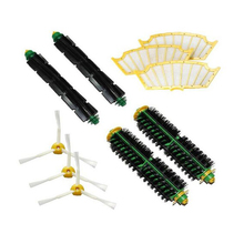 Accessory fit for Irobot Roomba 500 510 530 532 535 540 555 560 562 570 572 580 581 590 610 all Green, Red, Black cleaning head