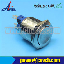 2205Z 22mm IP67 IK10 1NO1NC sealed metal waterproof ON-OFF push button switch(China)