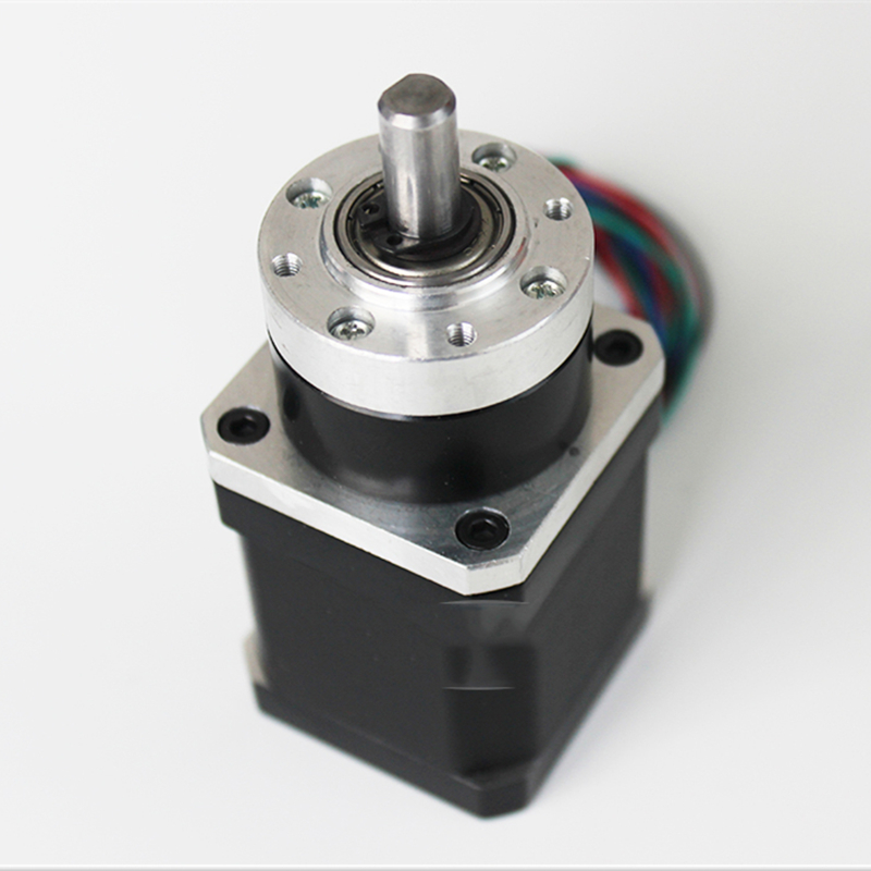 China Reducer High Precision 5.18:1 Ratio Planetary 3Nm Gearbox Speed Reducer+NEMA17 Stepper Motor Kits for DIY Mini CNC Router<br>
