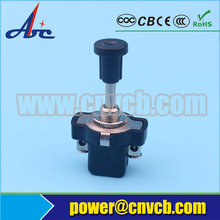 AS04 IBA-05-13 SPST 2P 30VDC Auto Universal Car Push Lever Action ON/OFF With Screw Terminals push Pull Switch