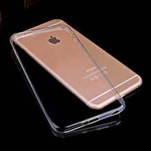 Transparent Clear Case for iPhone 7 iPhone 7 Plus 6 6s 5 5s Soft Gel TPU Case Silicone Cover Ultra Thin Mobile Phone Case Funda