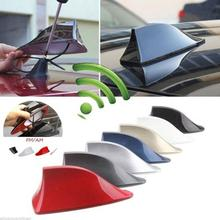 1pcs Car Truck Van Roof Shark Fin Antenna Radio Signal Aerial Universal For BMW/Honda/Toyota/Hyundai/VW/Kia/Nissan Car Styling