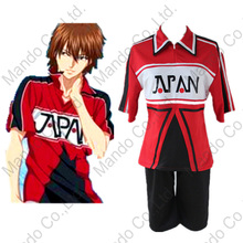 Anime New Prince Of Tennis Ryoma Echizen Cosplay Costumes Unisex Tennis Team Sports Uniform Suit Halloween Cosplay Fancy outfit