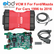 Top VCM2 VCM II Diagnostic Scanner For Ford For Mazda Full Chip VCM 2 VCMII OBD2 Diagnostic Tool SW For Ford V101 For Mazda V94