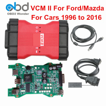 Top VCM2 VCM II Diagnostic Scanner For Ford For Mazda Full Chip VCM 2 VCMII OBD2 Diagnostic Tool SW For Ford V101 For Mazda V94(China)