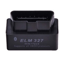 Latest Version V2.1 Super MINI ELM327 Bluetooth OBD OBD2 Wireless ELM 327 Multi-Language Interface for Android Torque/PC(China)
