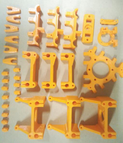 Rostock printer plastic printed  parts kit delta plastic parts set for Delta3D printer accessories<br><br>Aliexpress
