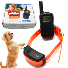 10set/lot*Remote Pet Training Dog Shock Collar Rechargeable Transmitter Waterproof Dog Training Collar With Charger x-600B