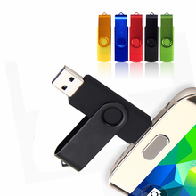 New 128GB USB Flash Drive Smartphone Pendrive OTG 16GB 32GB 64GB Pen Drive USB 2.0 Flash Drive Customized Memory Stick U Stick