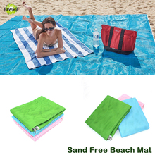 New Outdoor Beach Mat Sand Free Sand Proof Rug Picnic Blanket Fast Dry Easy To Clean For the Beach Picnic Camping Outdoor Events