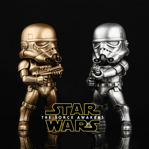 imitation cuprum Star Wars 21cm Awaken Action Toy Figures Model Statue Furniture Display Rather For Toys Birthday Festival Gif<br>