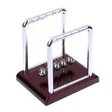 Newton's Cradle Balance Balls Desk Toy Desk Science Education Balance Ball Physics Science Pendulum Ball Development Teaching