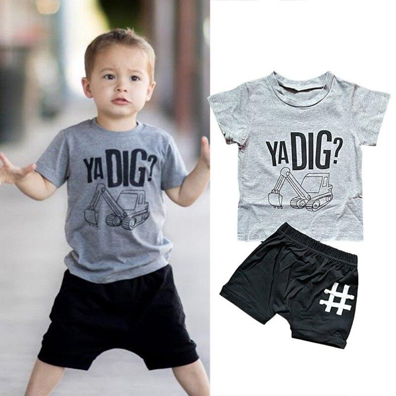 Toddler Boys Ya Dig T Shirt & Shorts Set 12