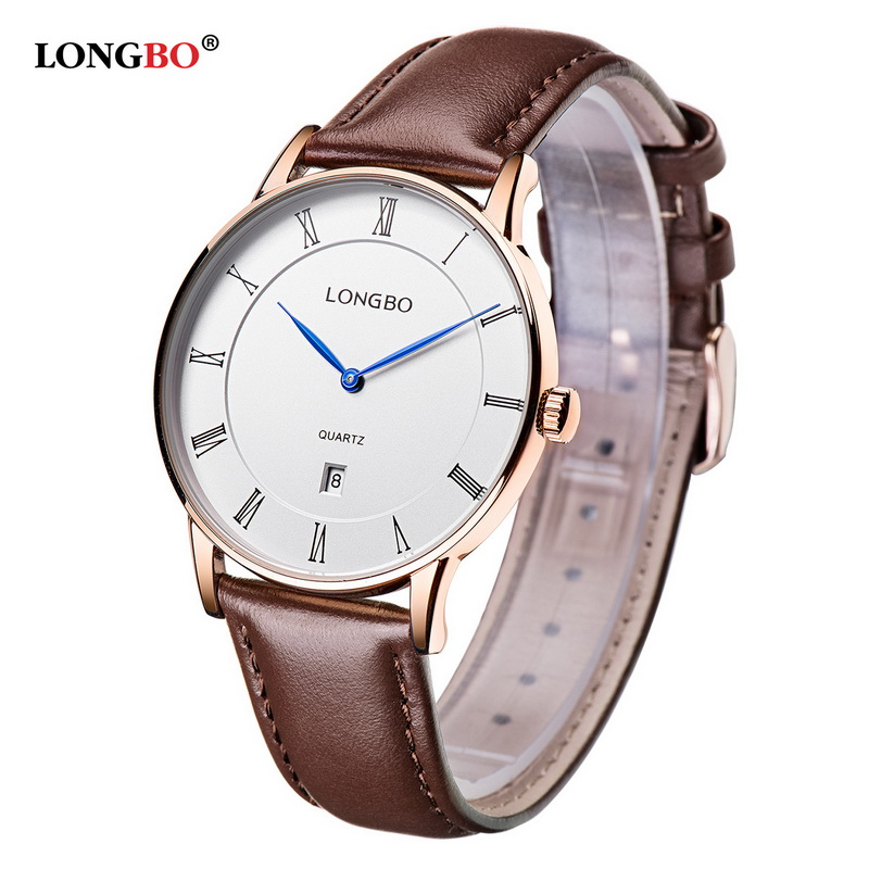 LONGBO Brand Luxury Brief Design Analog Rose Gold WatchesMen Women Waterproof Quartz Wristwatch Montre Homme 5015<br><br>Aliexpress