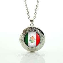 Personalized gift for men Mexico football team logo dress accessories locket pendant  necklace choker statement Necklace N509