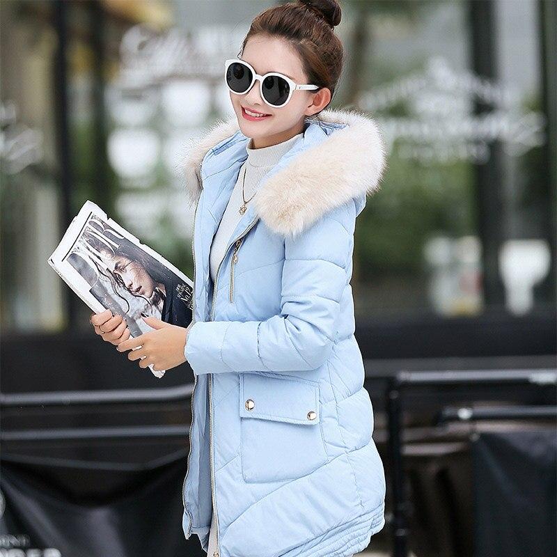 Fashion New winter female long thickening slim Hoodie Fur cotton womens cotton-padded jacket plus size big YRF1618Одежда и ак�е��уары<br><br><br>Aliexpress