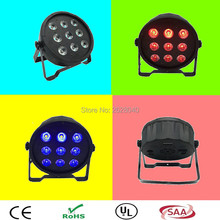 (4pieces/lot) Factory direct sale 9x12w RGBW DMX 512 DJ Disco Party Wedding Light Outdoor LED Par Light