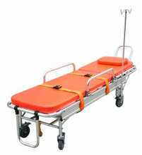 Cart first aid aluminum alloy ambulance stretcher medical stretcher hanger(China)