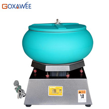 "GOXAWEE 17"" Vibratory Polishing Machine Vibratory Rock Tumbling Polishing Grinding Finishing Tools For Jewelry Tools Equipment"