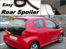 Root / Rear Spoiler For TOYOTA Aygo 2005~2015 Trunk Splitter / Ducatail Deflector For TopGear Fans Easy Tuning / Free Modeling