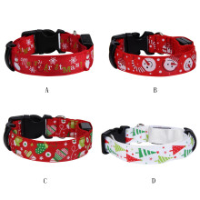 2017 high quality dog loeash and collar Christmas Pet Dog Cat Collar Adjustable newwst Design Collars Puppy Dogs Collar on sell