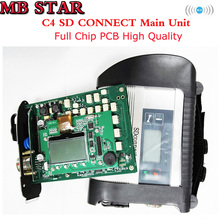 A++ Quality Full Chip MB STAR C4 SD CONNECT Diagnostic Tool with WIFI Function SD Connect 4 Multiplexer XENTRY Star C4 DHL free