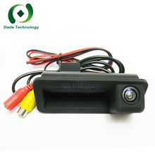 CCD car Rear View Camera For Ford Trunk Handle Camera For Ford Mondeo Fiesta S-Max Focus 2C 3C Land Rover Freelander Range Rover(China)