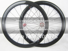 New design straight pull carbon wheel,titanium material,50mm deep clincher hot sale 700C carbon road hub R36 powerway