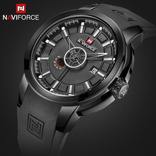 Buy Men Watches NAVIFORCE Top Luxury Brand Men's Waterproof Quartz Wrist Watch Male Silicone Military Sport Clock Relogio Masculino for $18.99 in AliExpress store