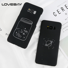 Buy Lovebay Phone Case Samsung Galaxy S8 S8 Plus S7 S7 Edge Lovely Cartoon Bottle Planet Moon Hard PC Cover Cases Note 8 for $1.22 in AliExpress store