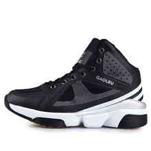 Basketball Shoes Men Mesh Breathable Mens Basketball Sneakers Red/Black Sport Athletic Sneakers High Top Basketball Trainers