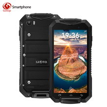Original Geotel A1 4.5 Inch Smartphone Android 7.0 MTK6580M Quad Core Mobile Phone 1GB RAM 8GB ROM Unlock Waterproof Cell Phone(China)