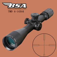 BSA TMD 4-14X44 FFP Hunting Riflescope First Focal Plane Glass Mil Dot Reticle Tactical Optics Sight Side Parallax Rifle Scope(China)