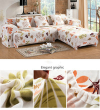 The Spring Landscape Leaves Stretch Sofa Cover Big Elasticity Couch Cover Loveseat Sofa Furniture Cover Machine Wash