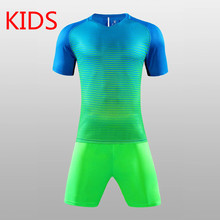 Children Soccer Jersey Set Youth Kids survetement tracksuit football jerseys 2016 2017 training Kits boys child Futbol Suit(China)