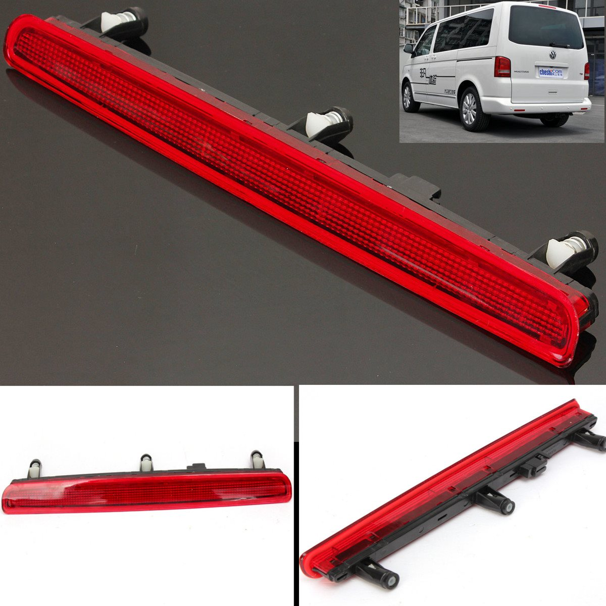 CAR AUTO BRAND NEW HIGH LEVEL ADDITIONAL BRAKE LIGHT LED STOP LAMP FOR VW T5 7E0945097A<br><br>Aliexpress