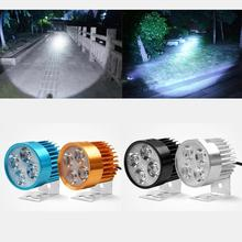 2017 Hot 12V-90V LED Headlight  Motorcycle Motorbike E-bikeHeadlamp Light Waterproof Bulb car styling