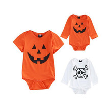 YL] 3pcs Pack of Carter Bodysuits for Baby Boy and Girl Short Sleeve Santa elk Jumpsuit for Baby at 3 months to 18 monthes BEBES(China)