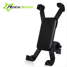 ROCKBROS 360 Degree Bicycle Bike Phone Holder Bag Cycling Handlebar Bag Anti-slip Accessories Smartphone Bike Support
