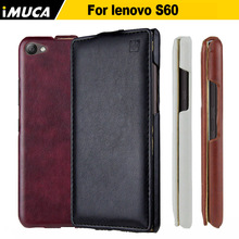 Buy iMUCA Phone Cases Lenovo S60 Case Luxury Flip Leather Case Full Protective Back Cover Coque Lenovo S60 S60W S60T Cover for $5.99 in AliExpress store