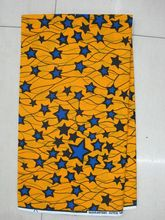 wholesale price African Veritable wax Super Wax Hollandais Prints 100% Cotton 6 Yards/Lot Real super wax hollandais h543(China)