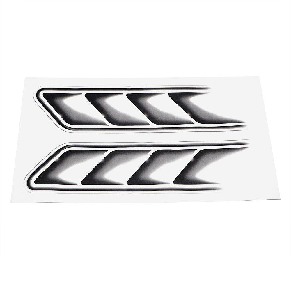 2pcs/Set 3D Shark Gills Car Stickers and Decals Auto Sticker