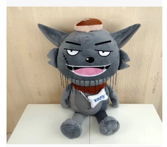 Movie &amp;TV about 55cm Grey Wolf plush toy , kids gift w3939<br><br>Aliexpress
