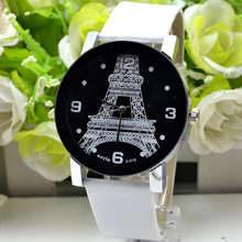Taobao watch fashion diamond explosion Paris Eiffel Tower belt crystal watches manufacturers wecin