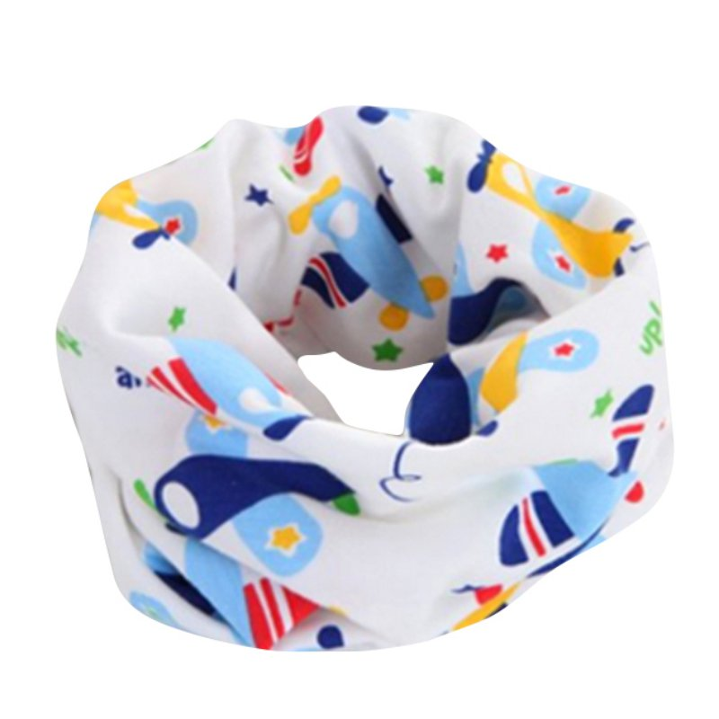 2017 new cotton baby scarf frog car horse star dot children o ring collars boys girls spring autumn scarves wear wraps accessory