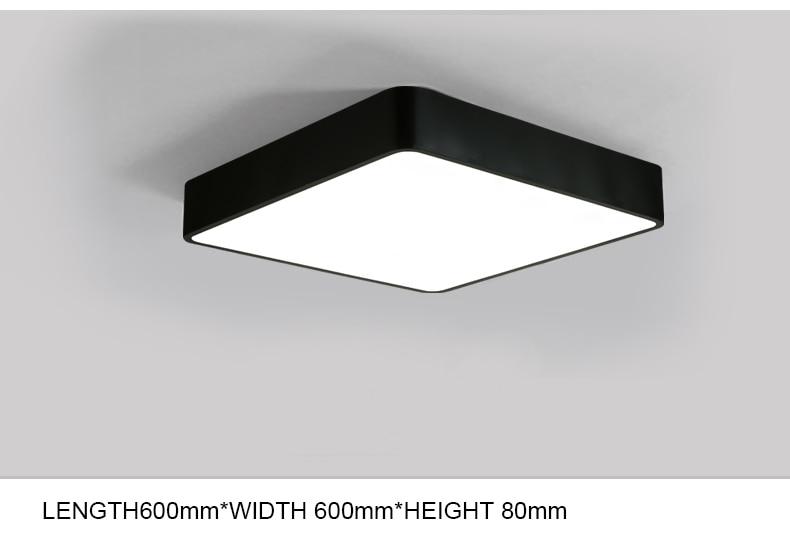 Plafoniere Bagno Led : Acquista plafoniera a led moderna lampada pannello soggiorno