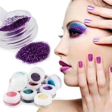 30 Mixed Colors Powder Pigment Glitter Mineral Spangle Eyeshadow For Makeup New Hot Women Makeup Tool(China)